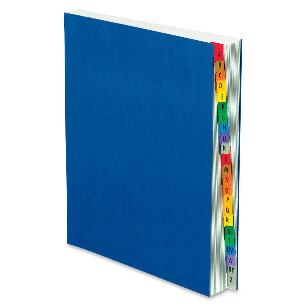 Pendaflex A-Z Oxford Desk File/Sorters - 20 Printed Tab(s) - Character - A-Z - Blue Divider - Multicolor Mylar Tab(s) - 1 Each. Picture 2
