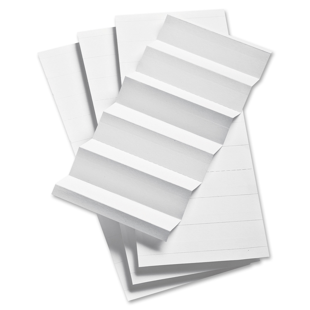 smead label templates - pendaflex 1 3 cut hanging file insert strips blank tab s