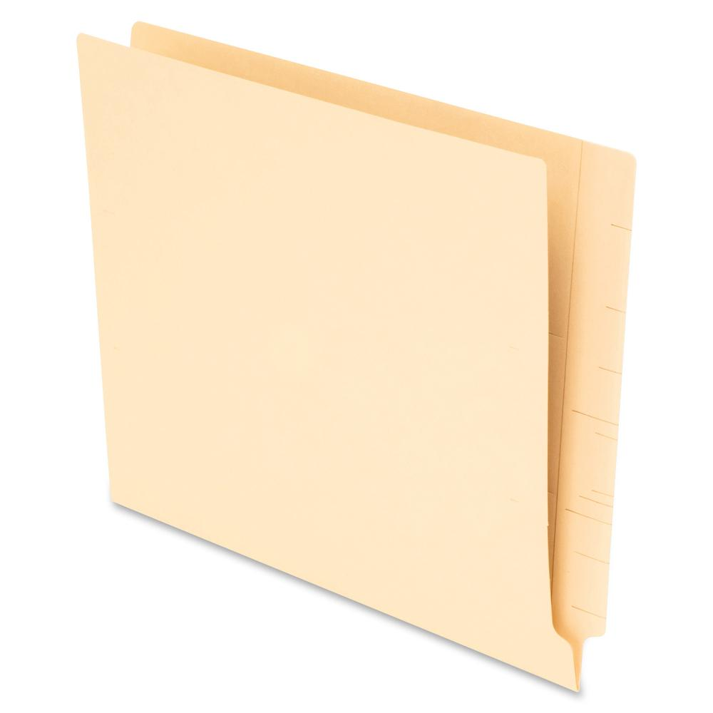"Pendaflex 1/3 Cut End Tab File Folders - Letter - 8 1/2"" x 11"" Sheet Size - Manila - Recycled - 75 / Box. Picture 2"