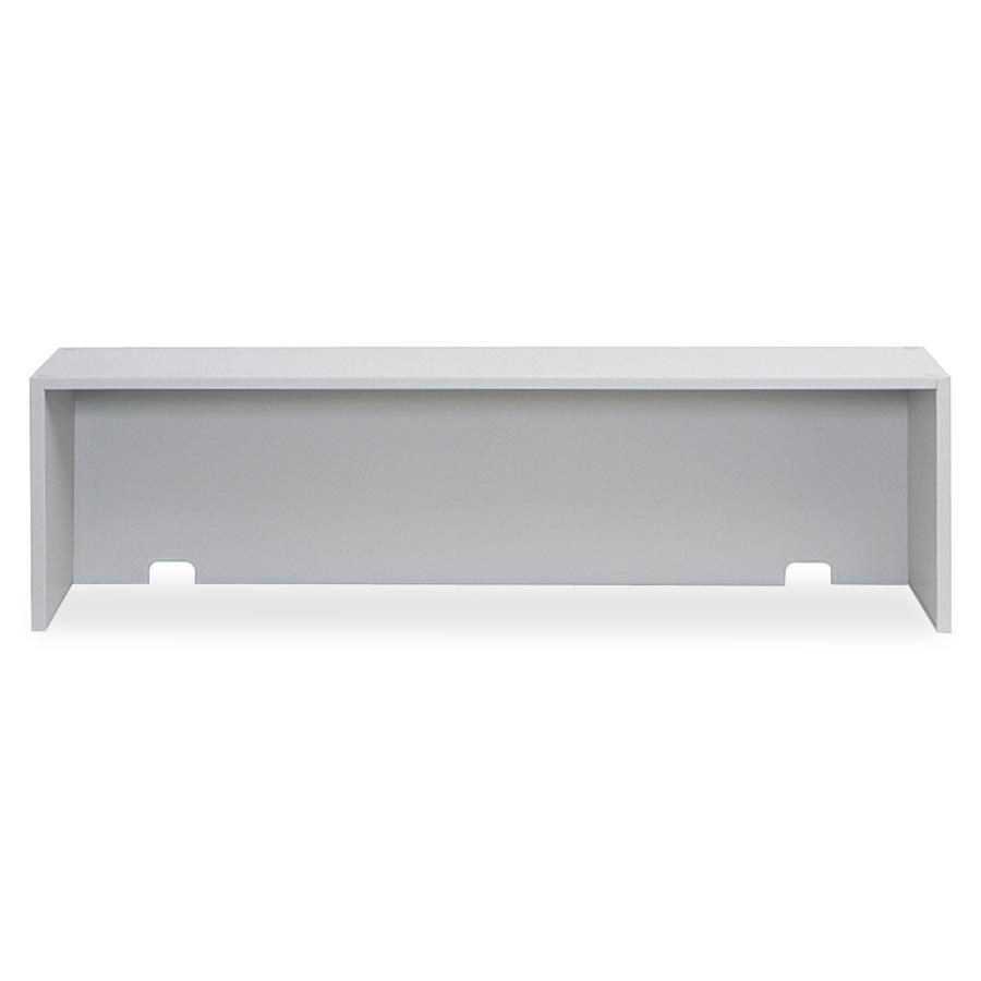 "Safco E-Z Sort Riser - 57.5"" Width x 13"" Depth x 14"" Height - Steel - Gray. Picture 4"