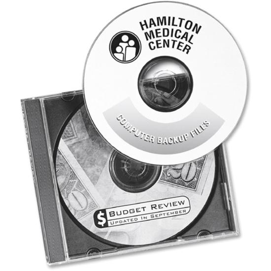 Avery® 5931 Laser Labels Shuttered Jewel Case Inserts with Software for CD/DVD - Laser - 50 / Pack. Picture 3