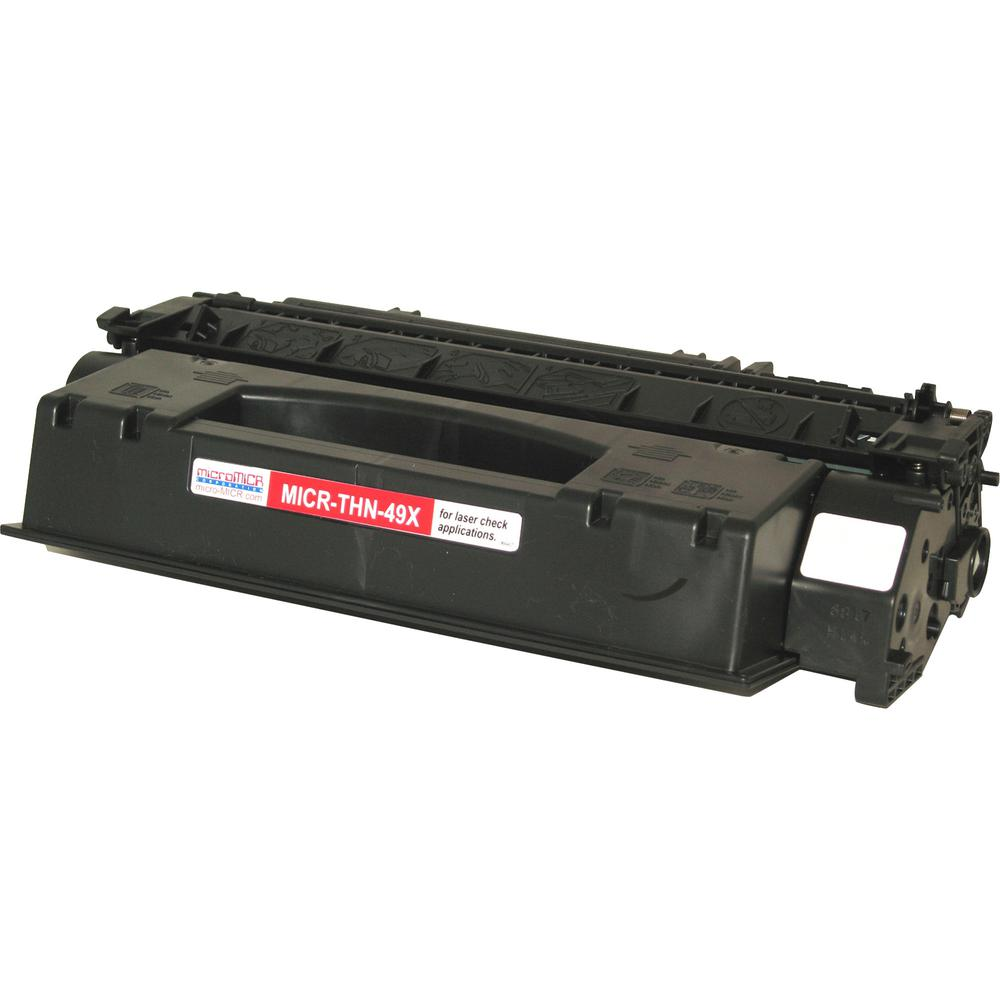 microMICR MICR Toner Cartridge - Alternative for HP 49X - Laser - 6000 Pages - Black - 1 Each. Picture 4