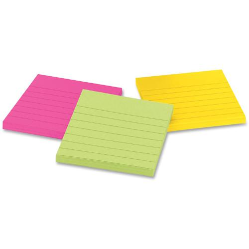 """Post-it® Notes Original Notepads - Cape Town Color Collection - 150 - 3"""" x 3"""" - Square - 50 Sheets per Pad - Unruled - Assorted - Paper - Repositionable, Self-adhesive - 3 / Pack. Picture 3"""