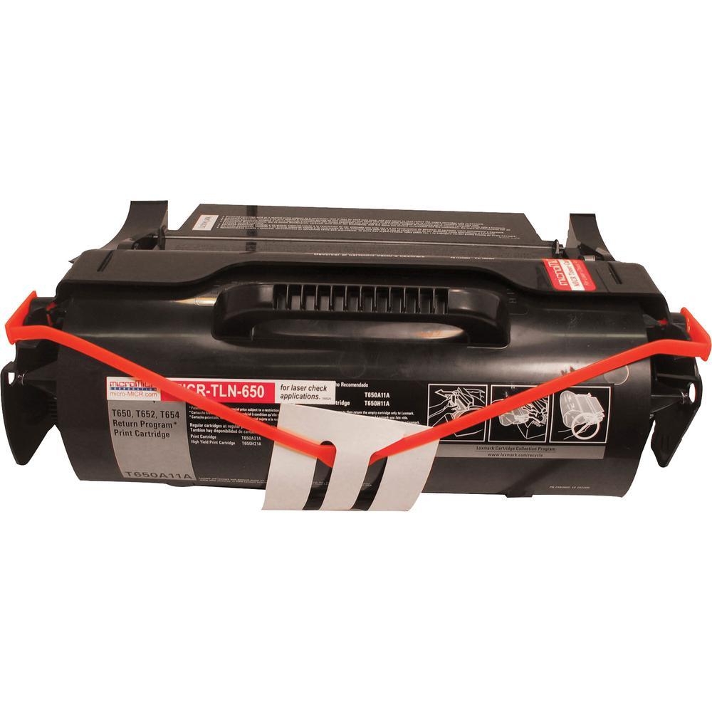 microMICR MICR Toner Cartridge - Alternative for Lexmark - Laser - 7000 Pages - Black - 1 Each. Picture 2