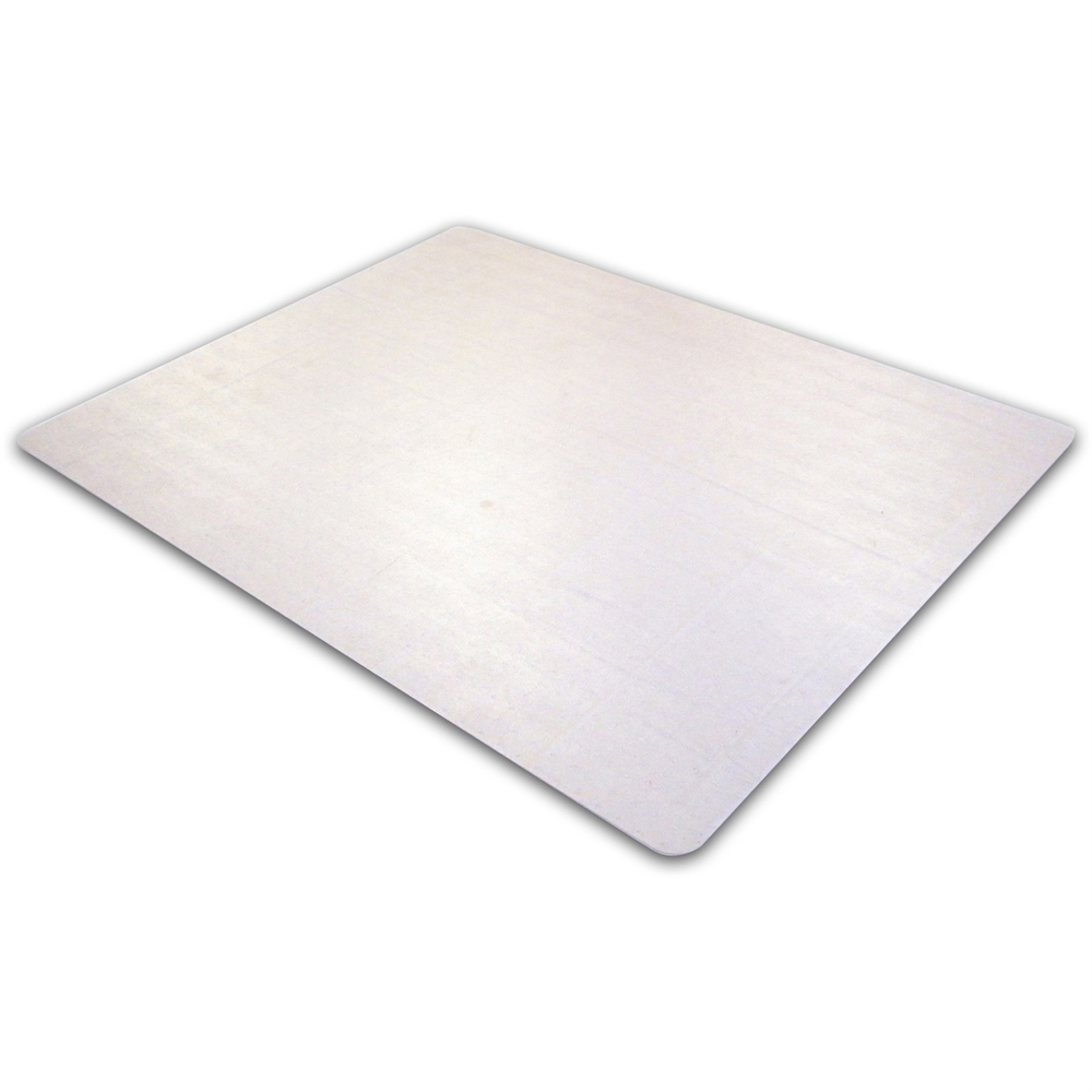 """Cleartex Ultimat Rectangular Chair Mat, Polycarbonate, For Plush Pile Carpets (over 1/2""""), Size 35"""" x 47"""". Picture 4"""