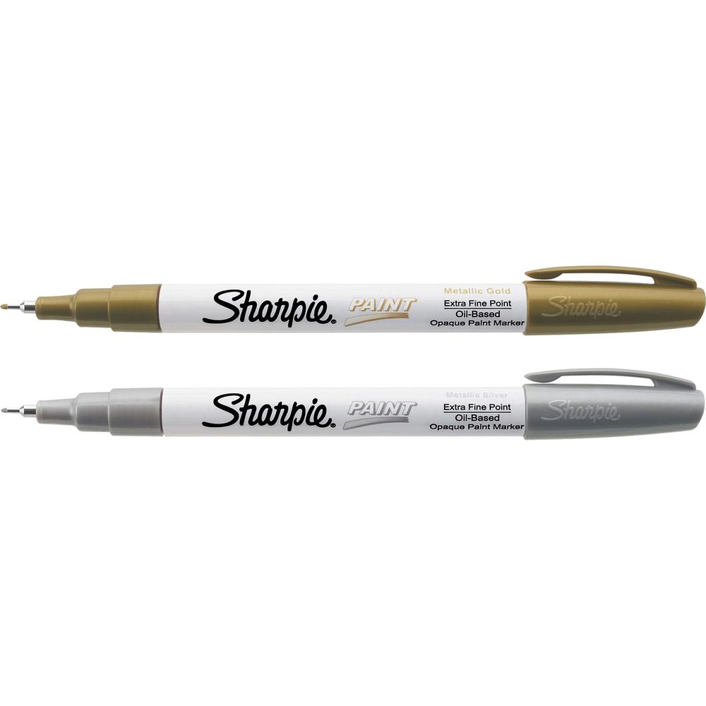 Sharpie extra fine oil based paint markers extra fine point type gold silver oil based ink - Best oil based exterior paint collection ...