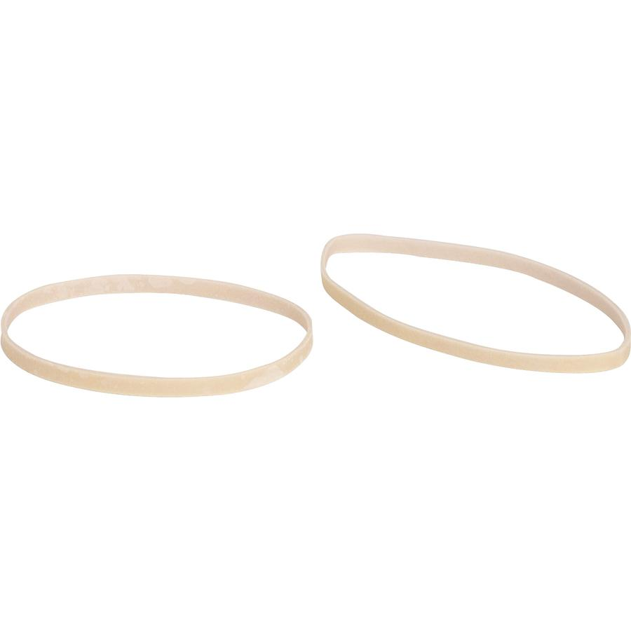"Business Source Quality Rubber Bands - Size: #32 - 3"" Length x 0.1"" Width - Sustainable - 700 / Pack - Rubber - Crepe. Picture 2"