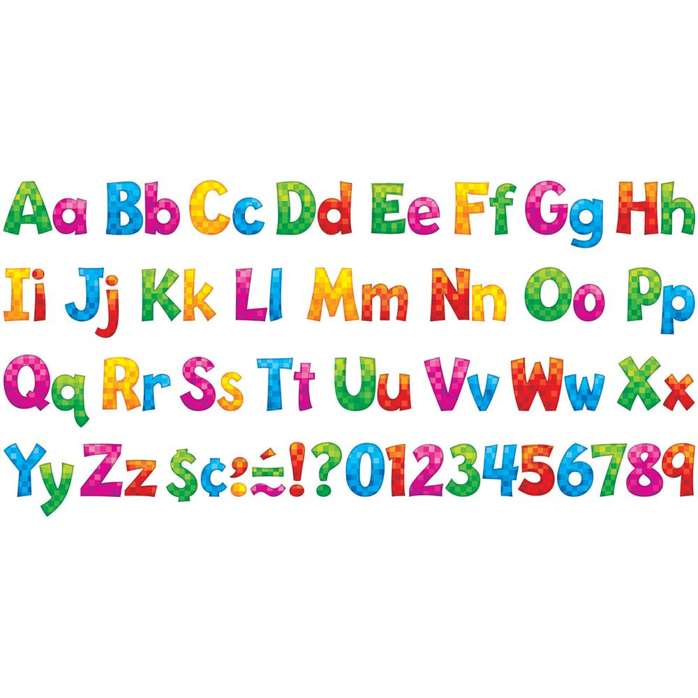 Trend  Playful Ready Letters Combo Pack  Learning ThemeSubject