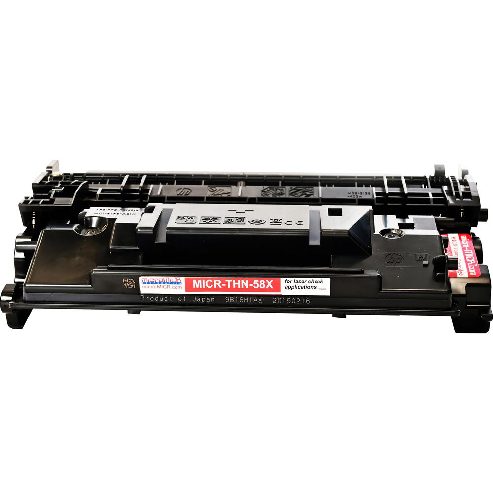microMICR MICR Toner Cartridge - Alternative for HP 58X - Laser - 10000 Pages - 1 Each. Picture 4