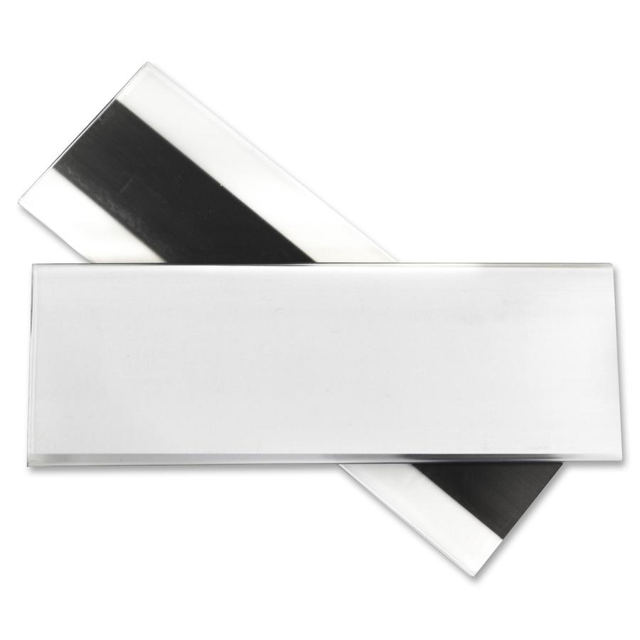 C Line Hol Dex Magnetic Shelf Bin Label Holders 2 Quot X 6