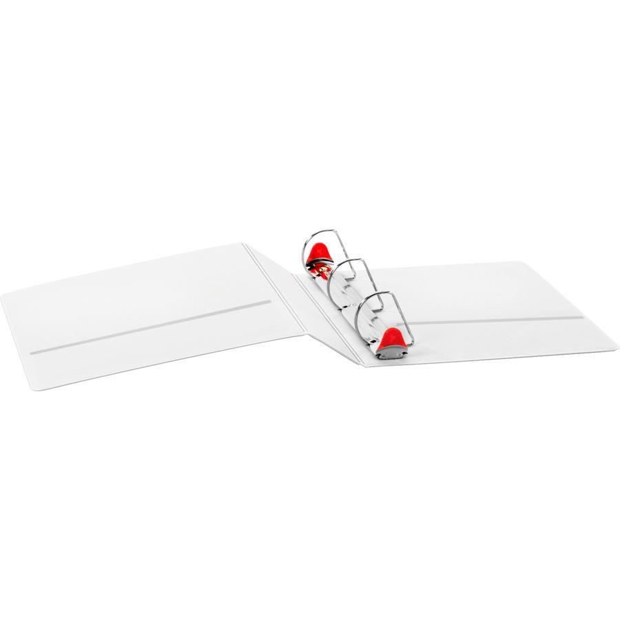 "Cardinal Xtralife ClearVue Locking Slant-D Binders - 2"" Binder Capacity - Letter - 8 1/2"" x 11"" Sheet Size - 540 Sheet Capacity - 2 1/2"" Spine Width - 3 x D-Ring Fastener(s) - 2 Inside Front & Back Po. Picture 6"