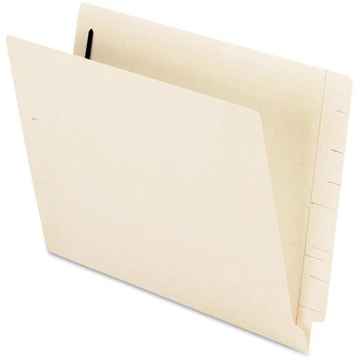 "Pendaflex Smart Shield Manila End-Tab Folders - Letter - 8 1/2"" x 11"" Sheet Size - 2 Fastener(s) - 2"" Fastener Capacity - 11 pt. Folder Thickness - Manila - Manila - Recycled - 50 / Box. Picture 3"