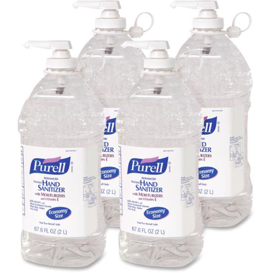 Purell 174 Economy Size Pump Hand Sanitizer 67 6 Fl Oz 2 L