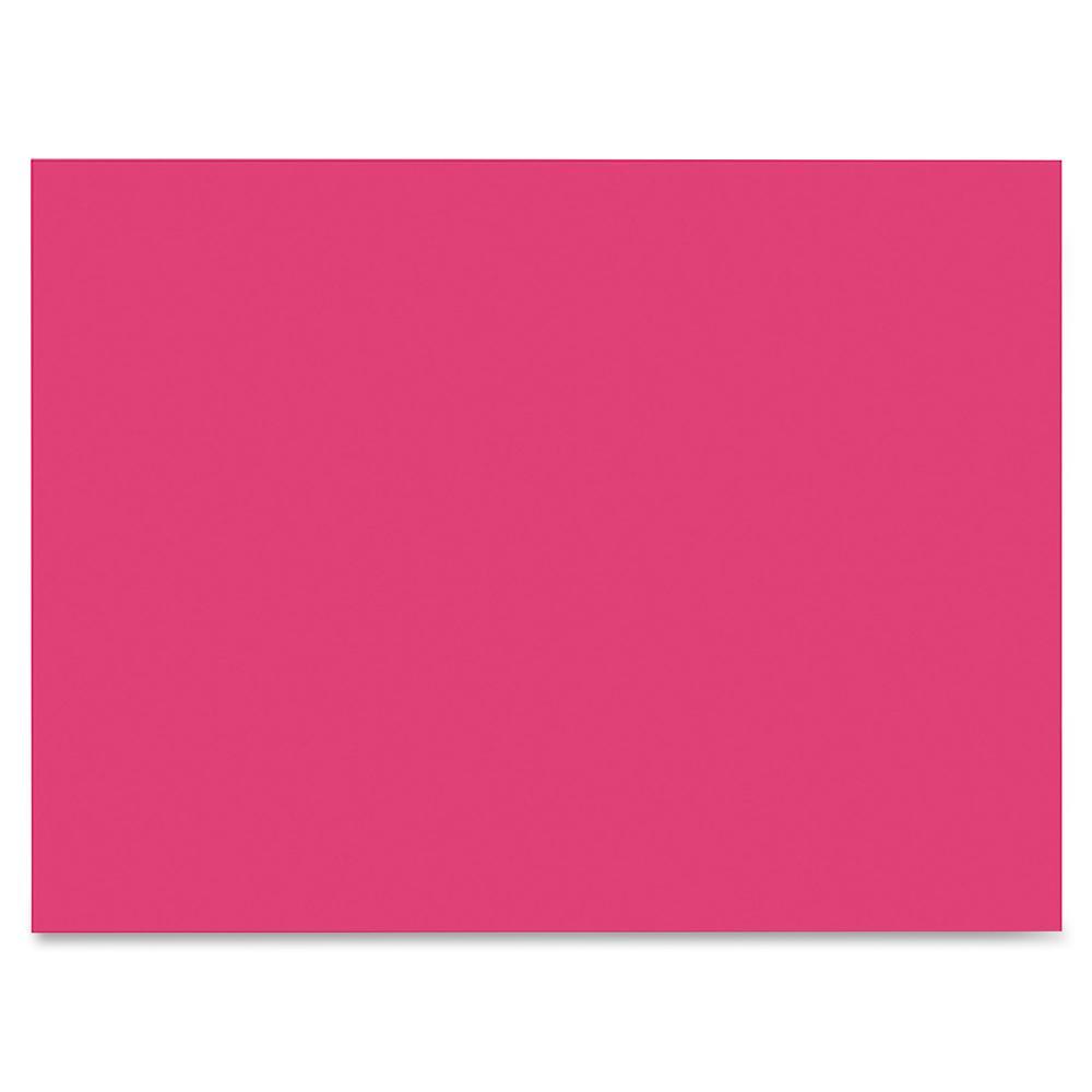 "SunWorks Construction Paper - Multipurpose - 9"" x 12"" - 50 / Pack - Scarlet. Picture 3"