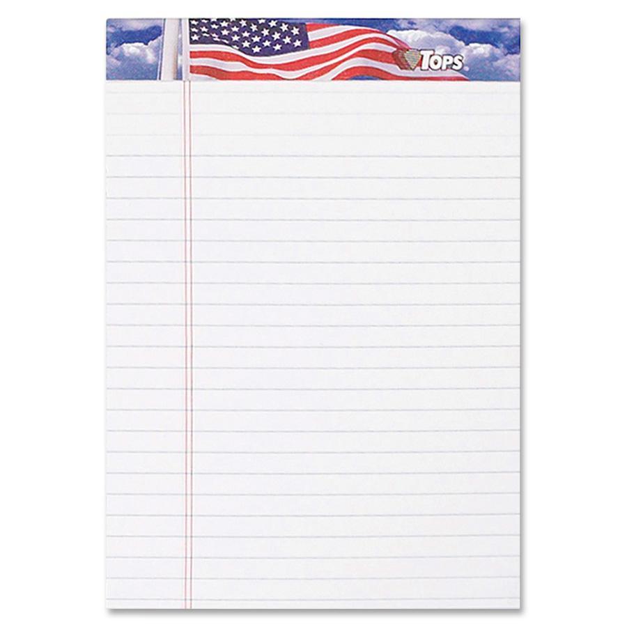 TOPS American Pride Binding Legal Writing Tablet