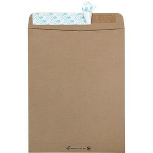 "Quality Park Redi-Strip Eco-friendly Catalog Envelope - Catalog - 10"" Width x 13"" Length - Peel & Seal - 100 / Box - Kraft. Picture 4"