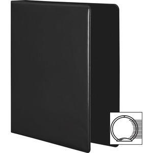 "Wilson Jones Extra Durable Hinge Ultra-Duty View Binder - 3"" Binder Capacity - Letter - 8 1/2"" x 11"" Sheet Size - 625 Sheet Capacity - 3 x Round Ring Fastener(s) - 4 Internal Pocket(s) - Polypropylene. Picture 3"