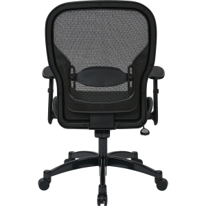 """Office Star Professional Managers Chair - Leather Seat - 5-star Base - Black - 20"""" Seat Width x 19.50"""" Seat Depth - 27.3"""" Width x 25.8"""" Depth x 46.3"""" Height. Picture 5"""