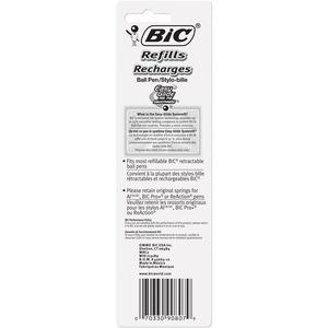 BIC Easy Glide 1.0mm Ball Pen Refills - Medium Point - Black Ink - Smooth Writing - 2 / Pack. Picture 2