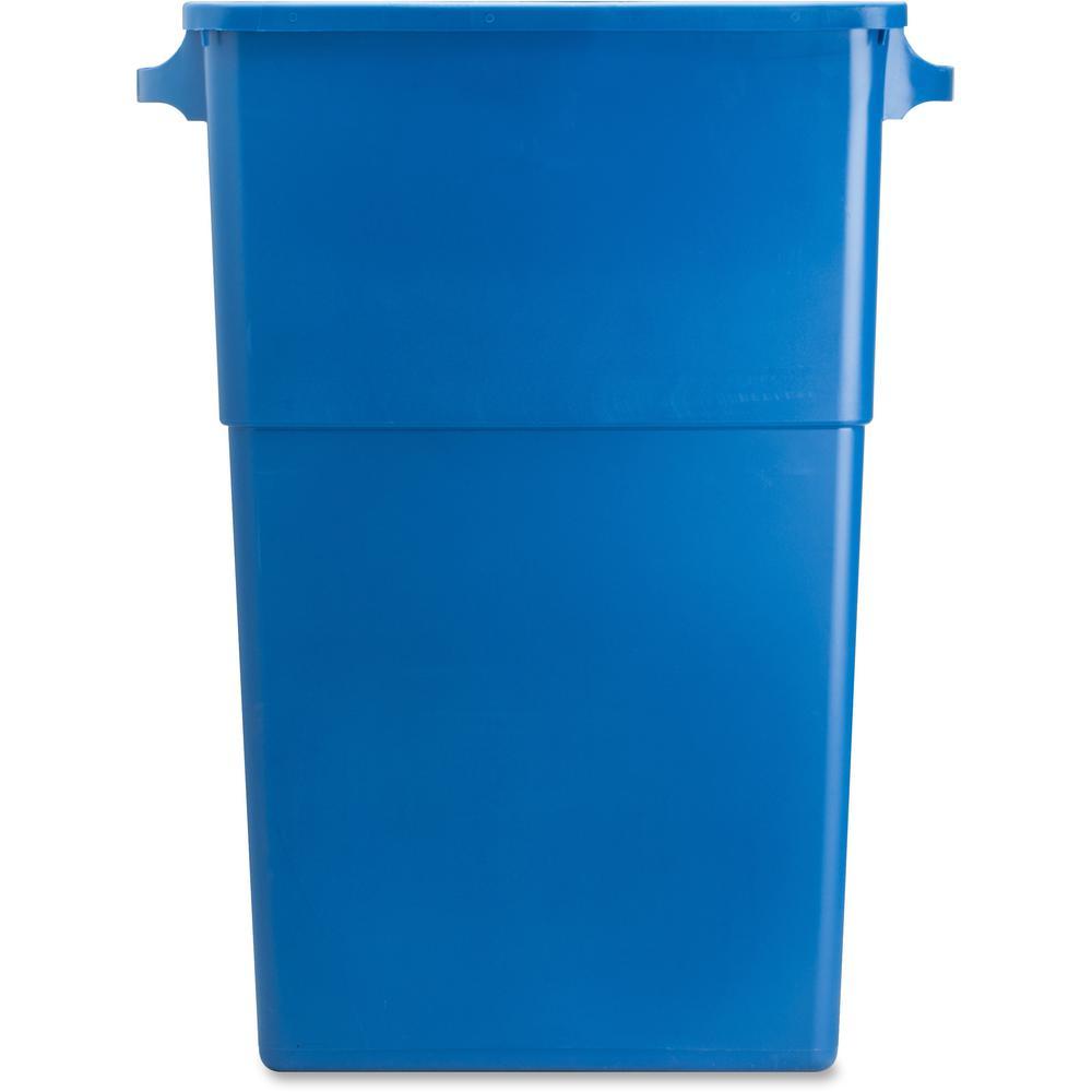 Blue Bedroom Waste Bin