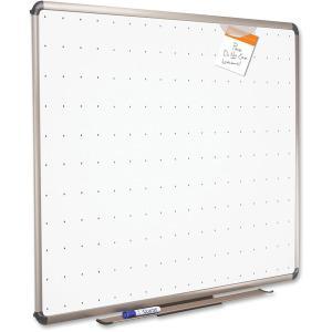 "Quartet® Prestige® Total Erase® Whiteboard - 72"" (6 ft) Width x 48"" (4 ft) Height - White Surface - Titanium Aluminum Frame - Horizontal - 1 Each. Picture 4"