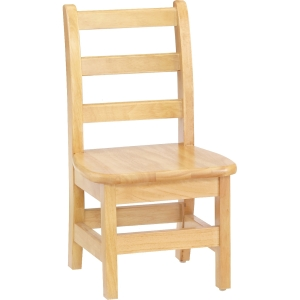 KYDZ Ladderback Chair - Solid Hardwood - Maple. Picture 2