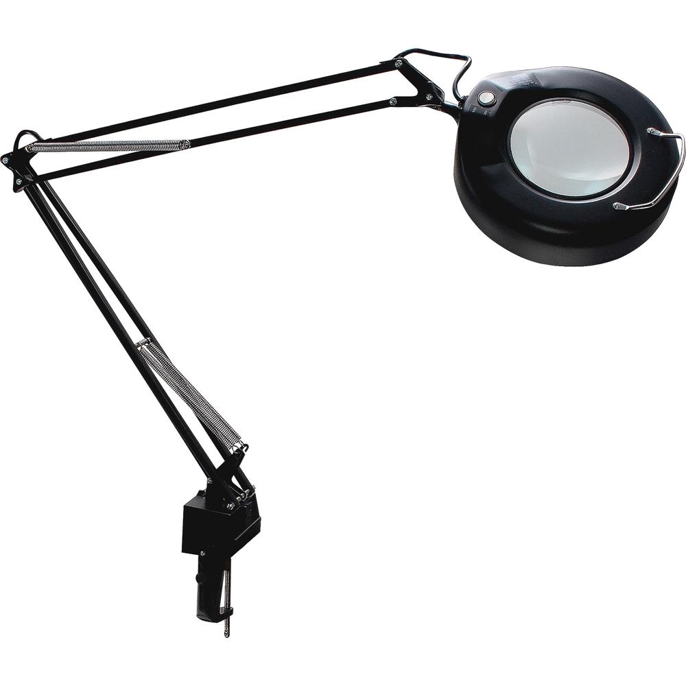 Ledu 40 Quot Arm Economy Magnifier Lamp 22 W Fluorescent