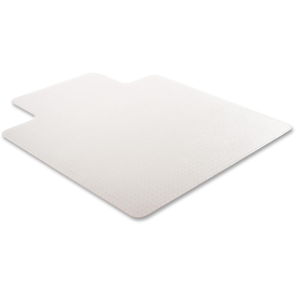 """Deflecto RollaMat for Carpet - Home, Office, Carpet - 60"""" Length x 46"""" Width - Lip Size 12"""" Length x 25"""" Width - Rectangle - Textured - Vinyl - Clear. Picture 12"""