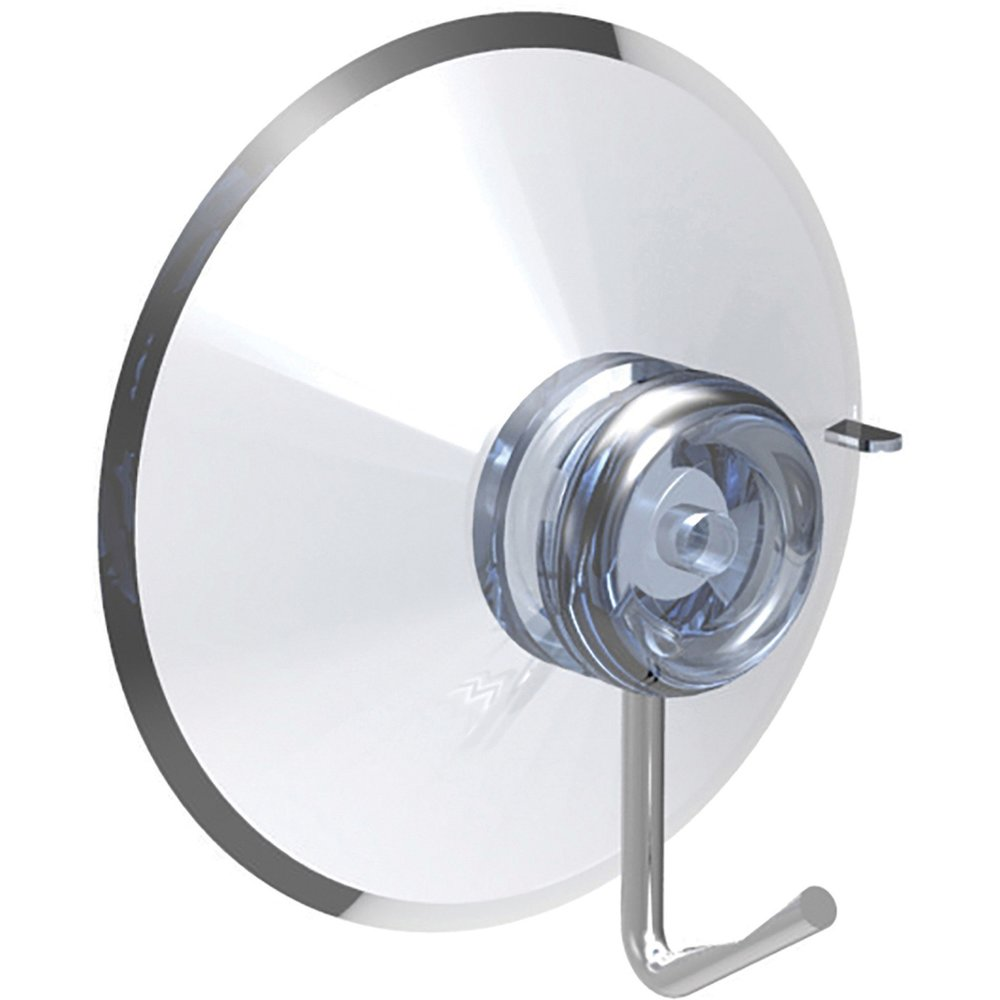 Deflecto Suction Cup Plastic Metal Clear