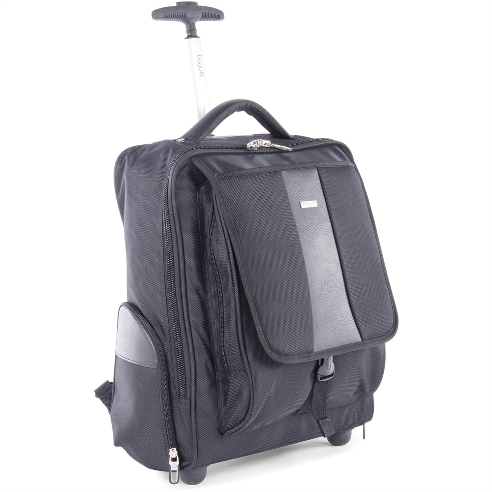 Bugatti Carrying Case Rolling Backpack For 15 6