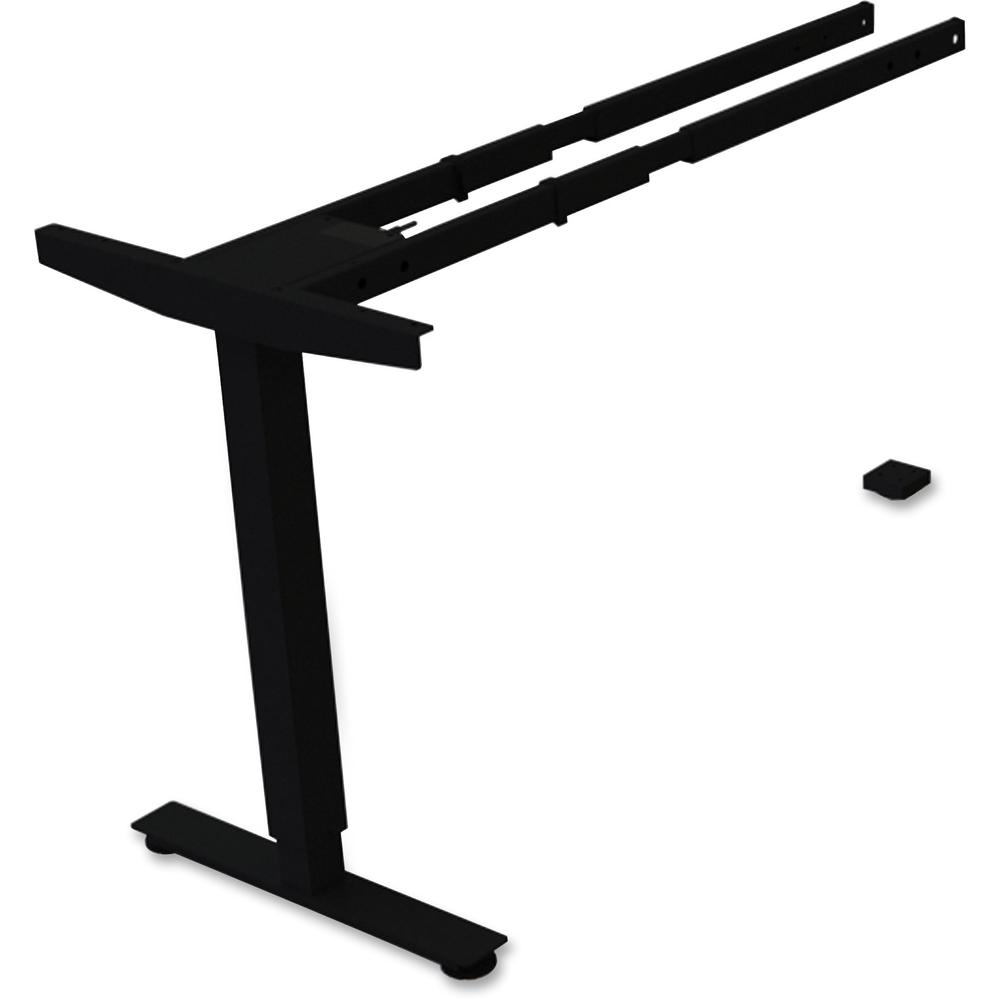 Lorell Sit Stand Desk Third Leg Add On Kit 275 Lb Weight