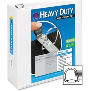 Avery Heavy Duty View Binders With Locking One Touch Slant