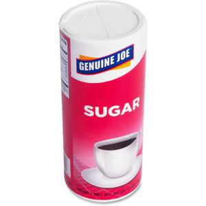 Genuine Joe 20 oz. Sugar Canister - Canister - 1.2 lb (20 oz) - Natural Sweetener - 3/Pack. Picture 11