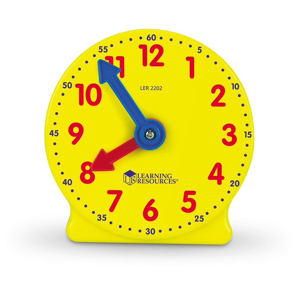 Learning Resources Pre K-4 Learning Clocks Set - Theme/Subject: Learning - Skill Learning: Time - 3-9 Year - Multi. Picture 2