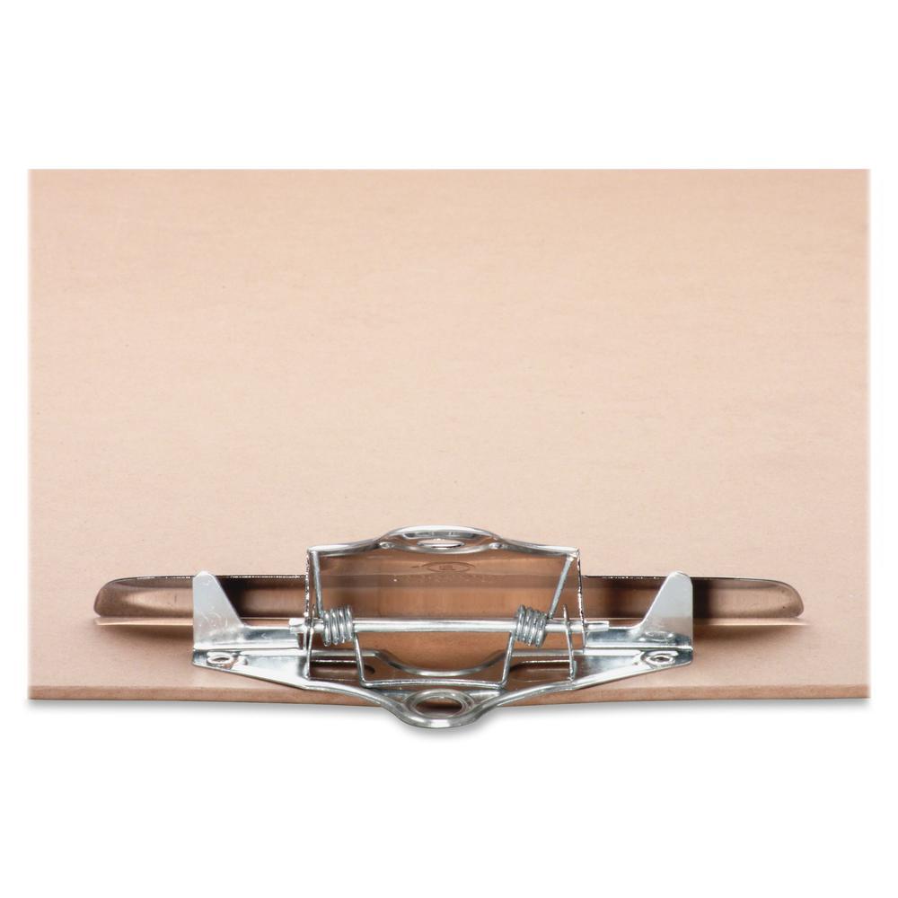 "Business Source Hardboard Clipboard - 9"" x 15 1/2"" - Hardboard - Brown - 1 Each. Picture 7"