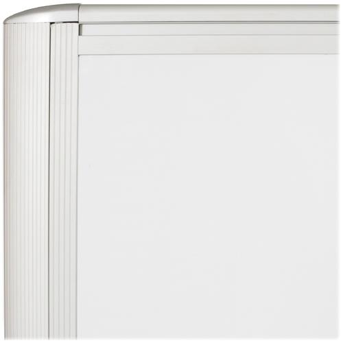 "MooreCo Balt Lumina Multifunctional Mobile Room Divider - 39.5"" Width x 72"" Height x 20"" Depth - Platinum Frame. Picture 3"