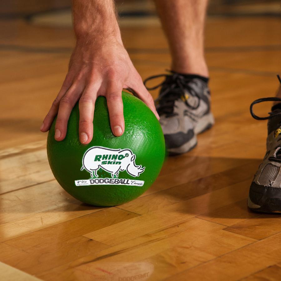 "Champion Sports 6 Inch Rhino Skin Low Bounce Dodgeball Set - 6.30"" - Low Density Foam - Dodgeball - Red, Orange, Yellow, Green, Blue, Purple - 8 / Case. Picture 3"