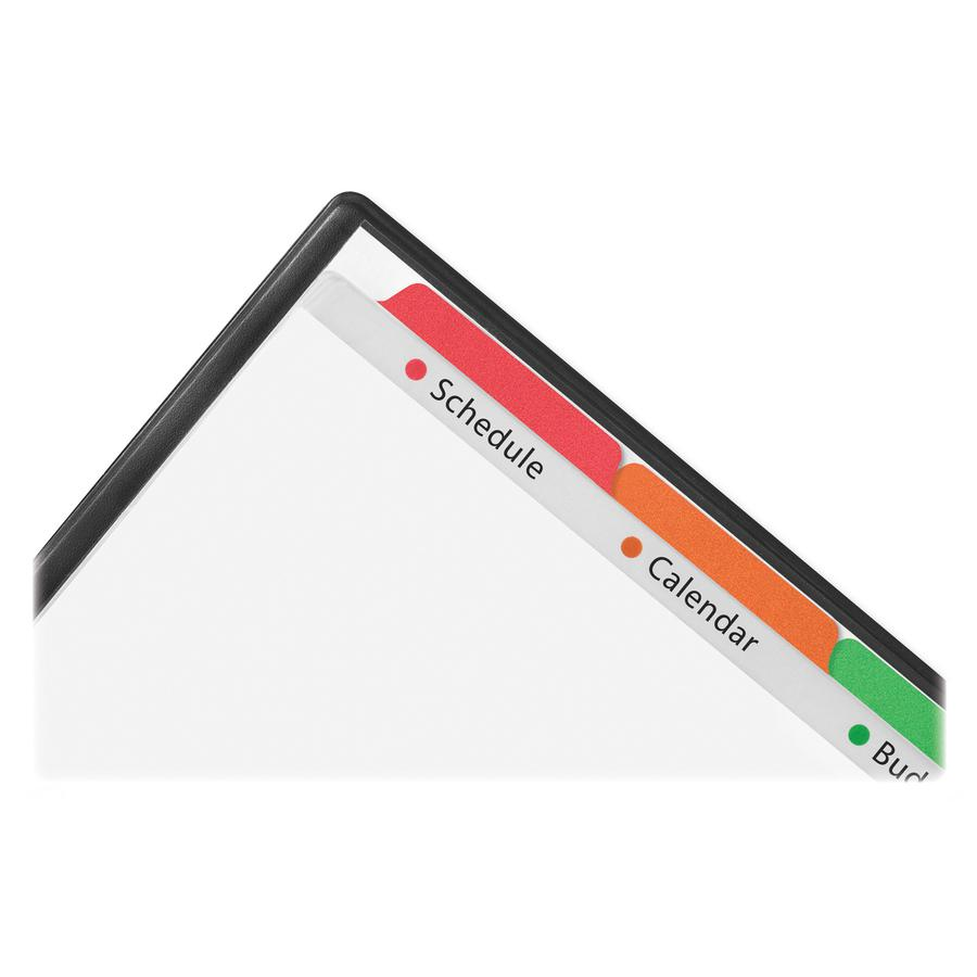 """Avery® Easy View Plastic Dividers - 5 x Divider(s) - 5 - 5 Tab(s)/Set - 8.5"""" Divider Width x 11"""" Divider Length - 3 Hole Punched - Clear Plastic Divider - Multicolor Plastic Tab(s) - 5 / Set. Picture 5"""