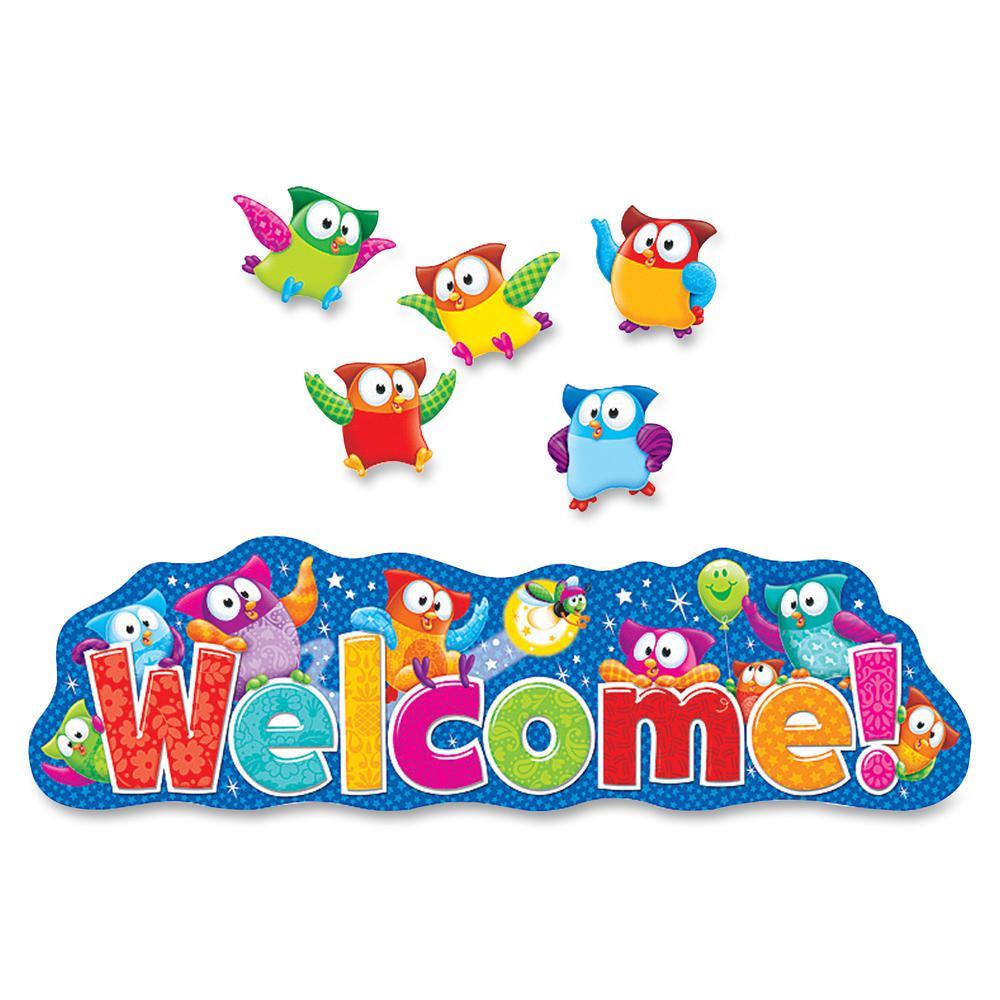 Trend Owl Stars Welcom Bulletin Board Set 1 36