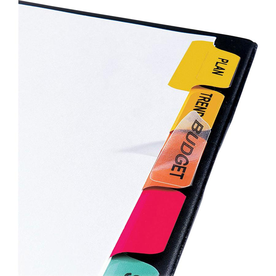"""Avery® Index Maker Index Divider - 8 x Divider(s) - Print-on Tab(s) - 8 - 8 Tab(s)/Set - 8.5"""" Divider Width x 11"""" Divider Length - 3 Hole Punched - White Paper Divider - Multicolor Paper Tab(s). Picture 3"""