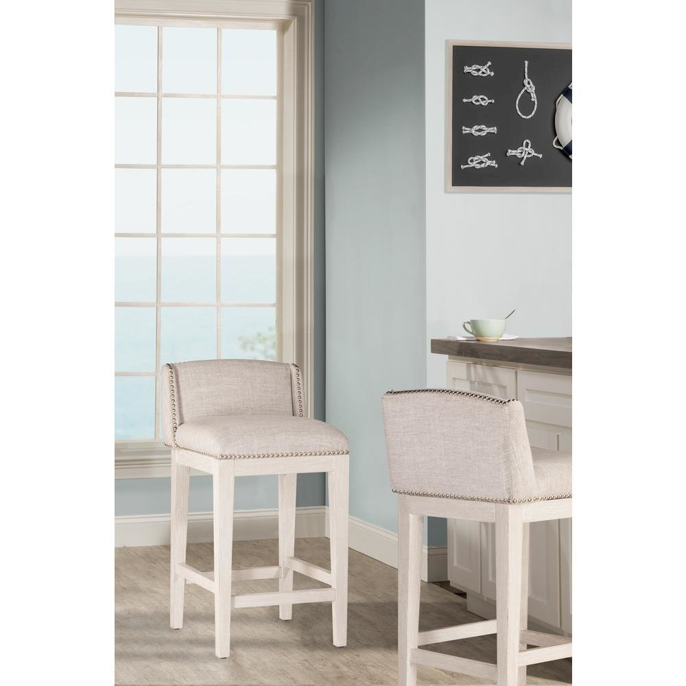 Bronn Non-Swivel Counter Height Stool - Set of 2. Picture 6