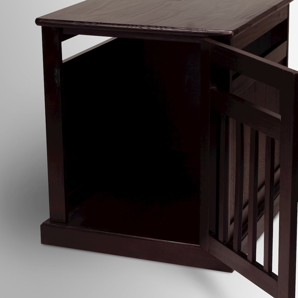 Chappy Pet Crate with Wood Slats. Picture 6