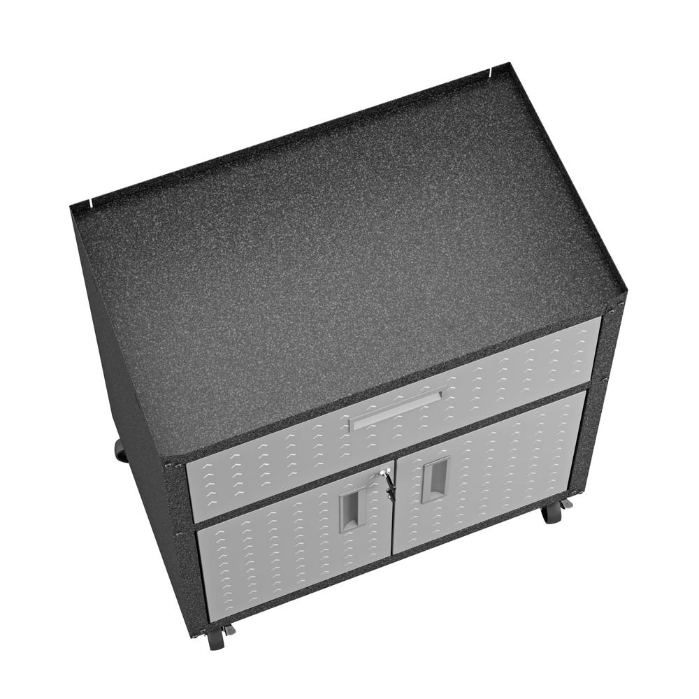 Fortress Floating Garage Cabinet. Picture 4