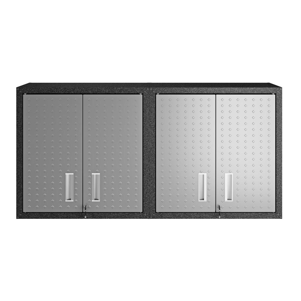 Fortress Floating Garage Cabinet - Set of 2. Picture 1