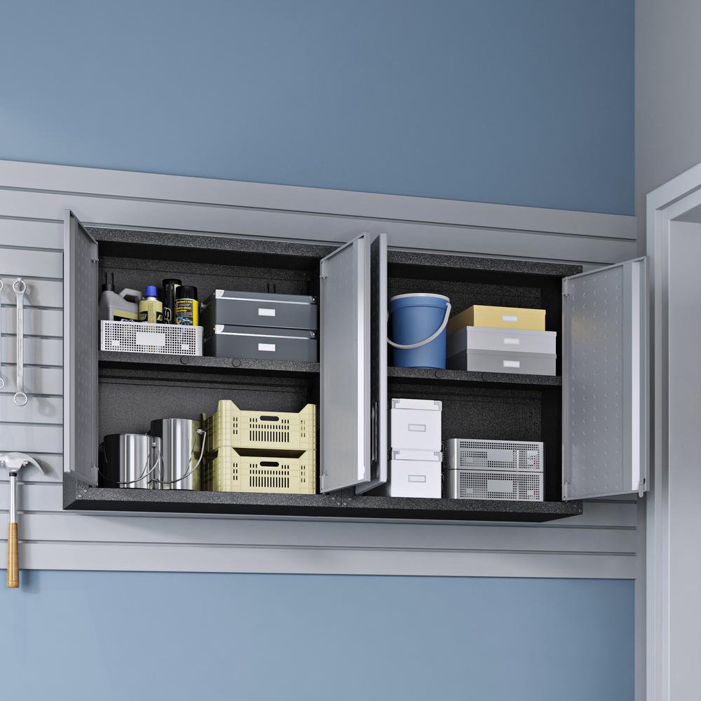 Fortress Floating Garage Cabinet - Set of 2. Picture 4
