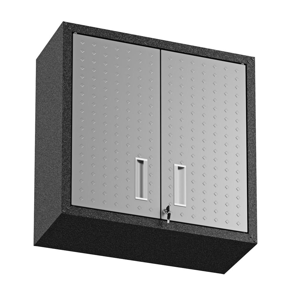 Fortress Floating Garage Cabinet - Set of 2. Picture 7