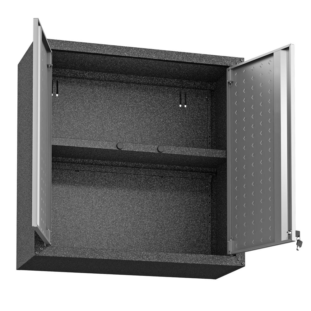 Fortress Floating Garage Cabinet - Set of 2. Picture 9