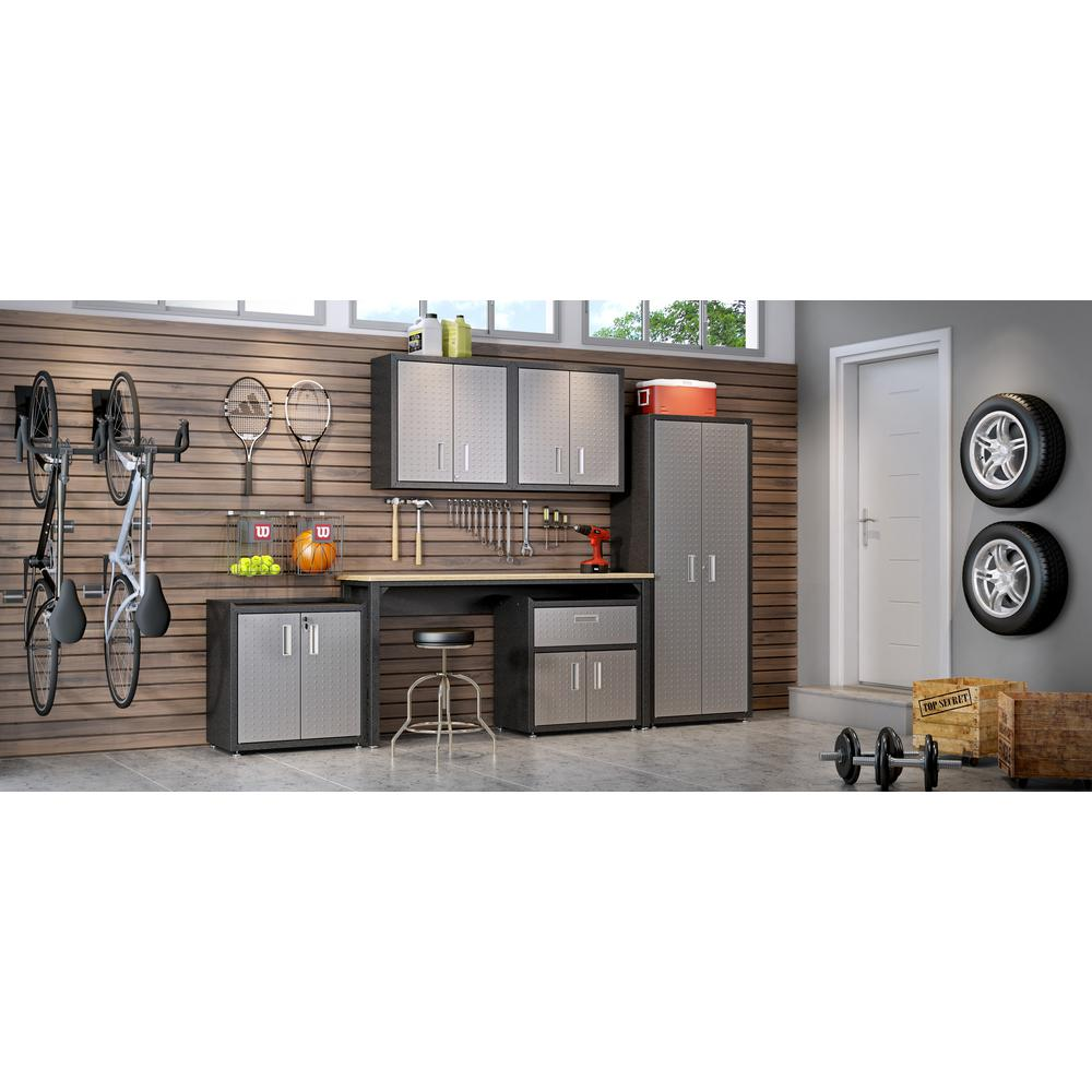 Fortress Floating Garage Cabinet - Set of 2. Picture 10