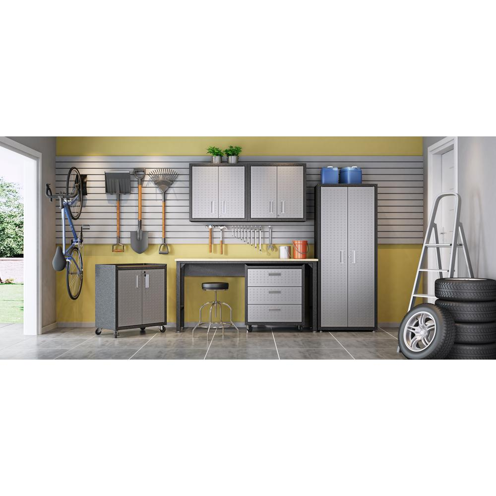 Fortress Floating Garage Cabinet - Set of 2. Picture 11