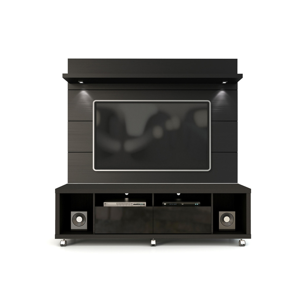 Cabrini Tv Stand And Floating Wall Tv Panel With Led